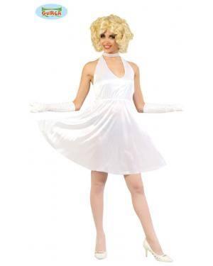 Fato Marilyn Star, Loja de Fatos Carnaval, Disfarces, Artigos para Festas, Acessórios de Carnaval, Mascaras, Perucas, Chapeus 170 acasadocarnaval.pt