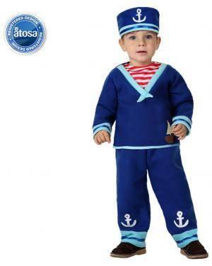 Fato Marinheiro Azul Bebé Disfarces A Casa do Carnaval.pt