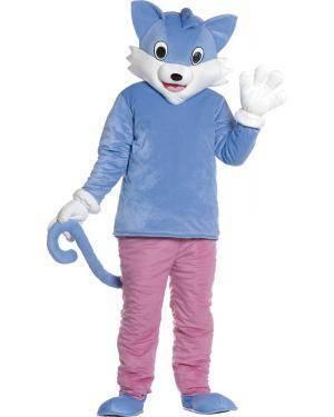 Fato de Mascote Gato Adulto M/L para Carnaval | A Casa do Carnaval.pt