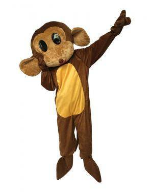 Fato de Mascote Macaco Adulto M/L para Carnaval | A Casa do Carnaval.pt