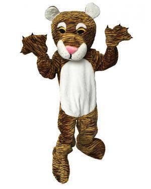 Fato de Mascote Tigre Adulto M/L para Carnaval | A Casa do Carnaval.pt