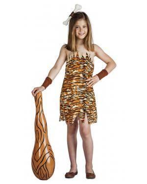 Fato Menina Cavernas 3-4 Anos para Carnaval