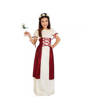 Fato Menina Medieval para Carnaval