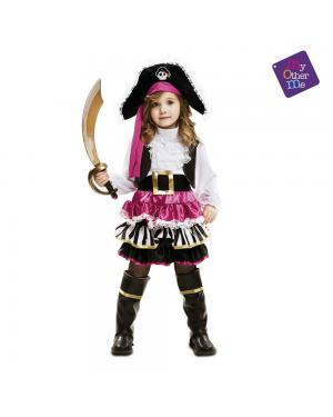 Fato Menina Pirata para Carnaval