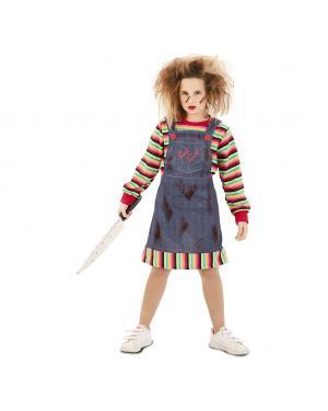 Fato Menina Possuída Criança para Carnaval