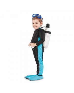 Fato Mergulhador Bebé para Carnaval