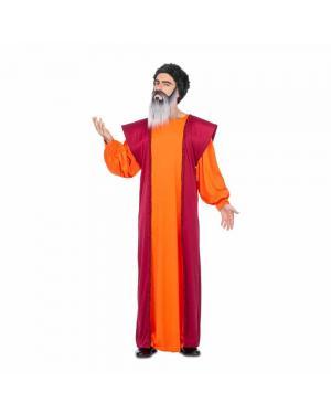 Fato Mestre Budista M/L para Carnaval