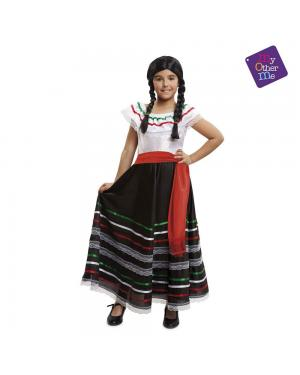 Fato Mexicana Menina para Carnaval