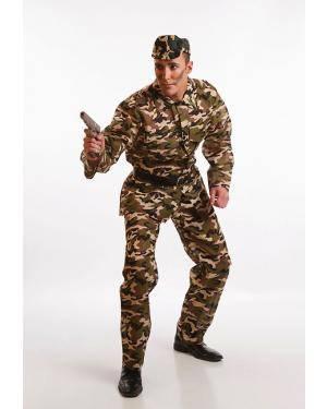 Fato Militar Adulto T. M/L Disfarces A Casa do Carnaval.pt