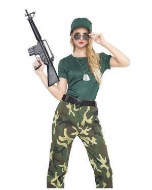 Fato Militar Camuflada T. S Disfarces A Casa do Carnaval.pt