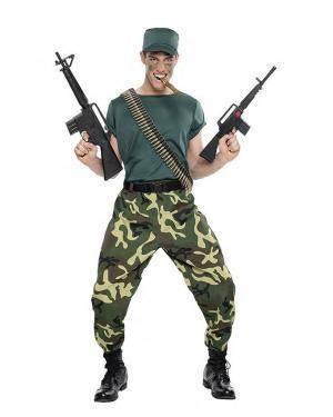 Fato Militar Camuflado T. M/L Disfarces A Casa do Carnaval.pt
