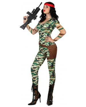 Fato Militar Soldado Sexy Adulto Disfarces A Casa do Carnaval.pt