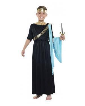 Fato Monarca Romano 3-4 Anos para Carnaval