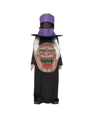 Fato Monstro com Chapéu Criança para Carnaval