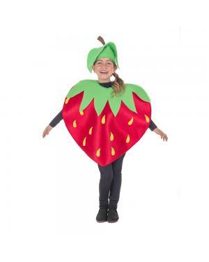 Fato Morango Criança para Carnaval