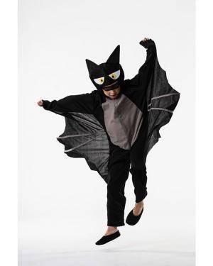 Fato Morcego Criança 3-5 Anos para Carnaval o Halloween 92176 | A Casa do Carnaval.pt
