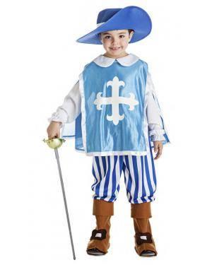 Fato Mosqueteiro Azul 1-2 Anos para Carnaval