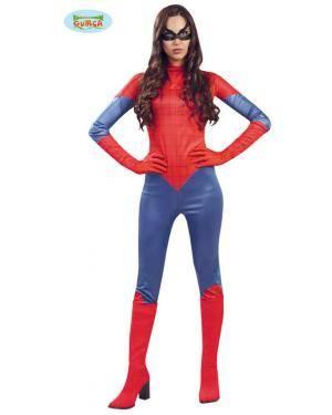 Fato Mujer Araña Adulta Disfarces A Casa do Carnaval.pt