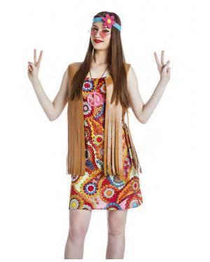 Fato Mulher Hippie Tamanho S para Carnaval