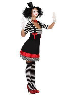 Fato Mulher Mimo Adulto Disfarces A Casa do Carnaval.pt