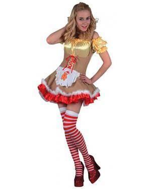 Fato Mulher de Ouro Adulto Disfarces A Casa do Carnaval.pt