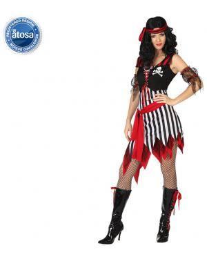 Fato Mulher Pirata Sexy Adulto Disfarces A Casa do Carnaval.pt