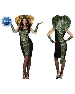 Fato Mulher Serpente Adulto Disfarces A Casa do Carnaval.pt