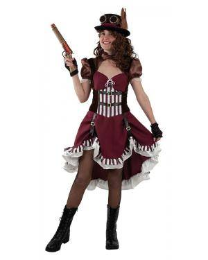 Fato de Mulher Steampunk para Carnaval | A Casa do Carnaval.pt