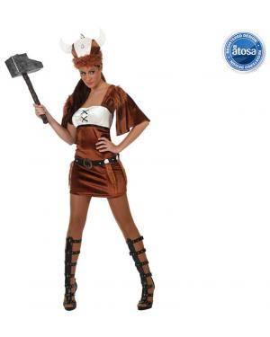 Fato Mulher Viking Adulto Disfarces A Casa do Carnaval.pt