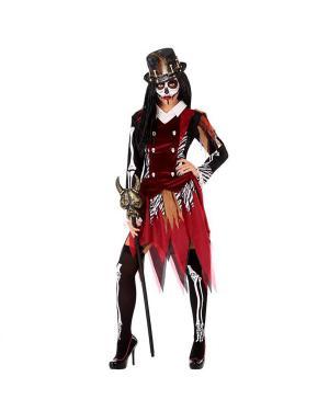 Fato Mulher Voodoo Adulta para Carnaval