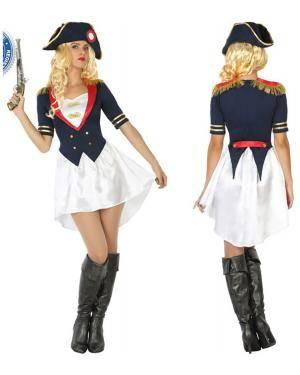 Fato Napoleão Mulher Adulto M/L Disfarces A Casa do Carnaval.pt