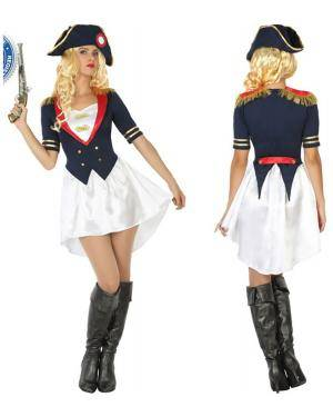 Fato Napoleão Mulher Adulto XS/S Disfarces A Casa do Carnaval.pt