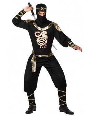 Fato Ninja Adulto para Carnaval