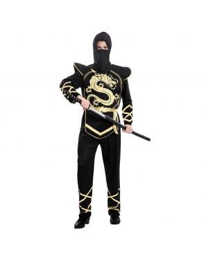 Fato Ninja Adulto Tamanho M/L para Carnaval