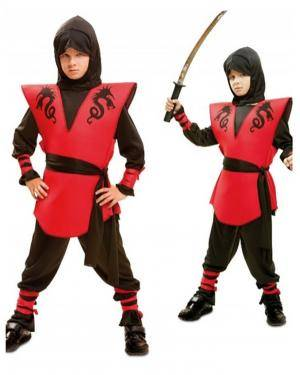 Fato Ninja Dragon Infantil, Loja de Fatos Carnaval, Disfarces, Artigos para Festas, Acessórios de Carnaval, Mascaras, Perucas, Chapeus 540 acasadocarnaval.pt