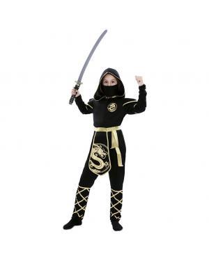 Fato Ninja Menina para Carnaval