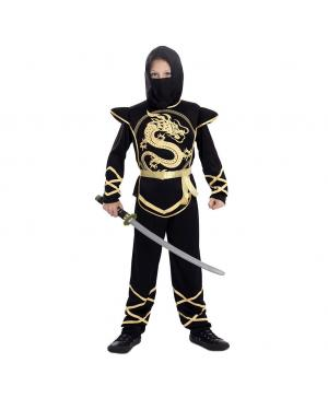 Fato Ninja Menino para Carnaval