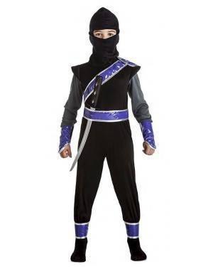 Fato Ninja Preto para Carnaval