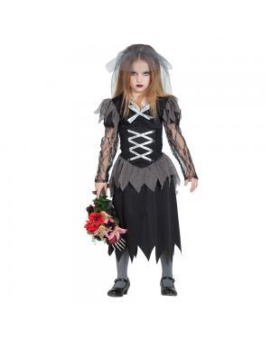 Fato Noiva Cadáver para Carnaval
