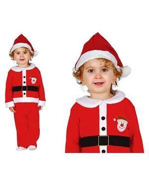 Fato Pai Natal Adorável para Bebé, Loja de Fatos Carnaval, Disfarces, Artigos para Festas, Acessórios de Carnaval, Mascaras, Perucas 102 acasadocarnaval.pt