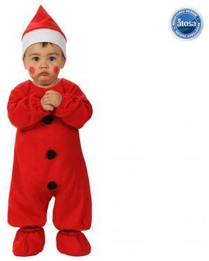 Fato Pai Natal Bebé Disfarces A Casa do Carnaval.pt