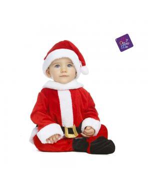 Fato Pai Natal Bebé para Carnaval