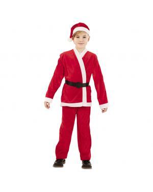 Fato Pai Natal Criança para Carnaval