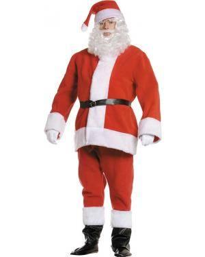 Fato de Pai Natal Forro Polar Adulto XL para Carnaval | A Casa do Carnaval.pt