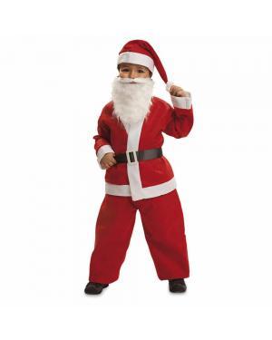 Fato Pai Natal Menino para Carnaval