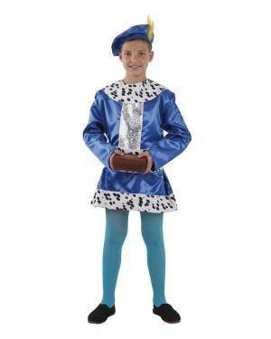 Fato de Pajem Baltasar Infantil para Carnaval | A Casa do Carnaval.pt