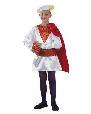 Fato de Pajem Melchior Infantil para Carnaval | A Casa do Carnaval.pt