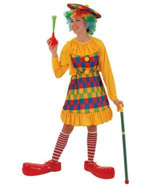 Fato Palhaça Amarela Adulto, Loja de Fatos Carnaval, Disfarces, Artigos para Festas, Acessórios de Carnaval, Mascaras, Perucas 408 acasadocarnaval.pt