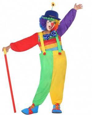 Fato Palhaça Multicolor Infantil para Carnaval