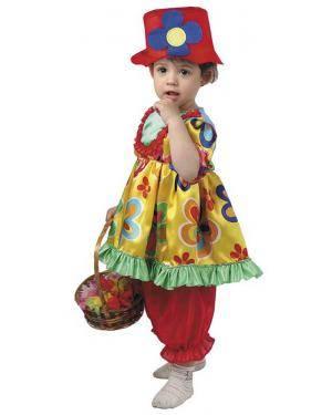 Fato de Palhacita Bebé para Carnaval | A Casa do Carnaval.pt